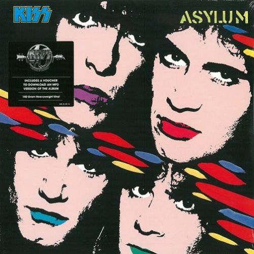 KISS Asylum Vinyl Record LP Mercury 2014